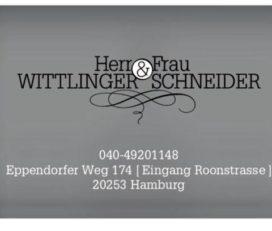 Herr Wittlinger & Frau Schneider
