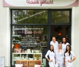 """Kosmetikstudio """"Hübsch gemacht"""""""