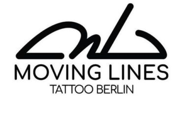 Moving Lines Tattoo