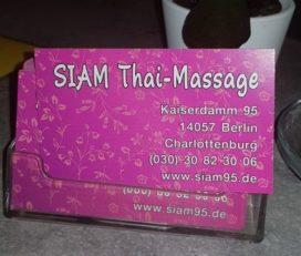 Thaimassage Siam 95